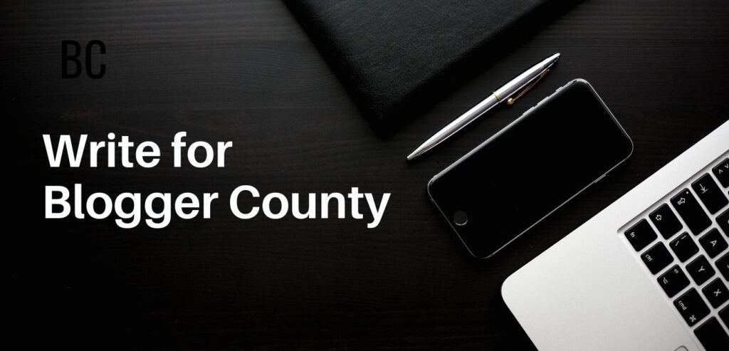 Write for blogger county