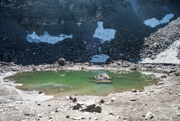 The roopkund lake in August2014