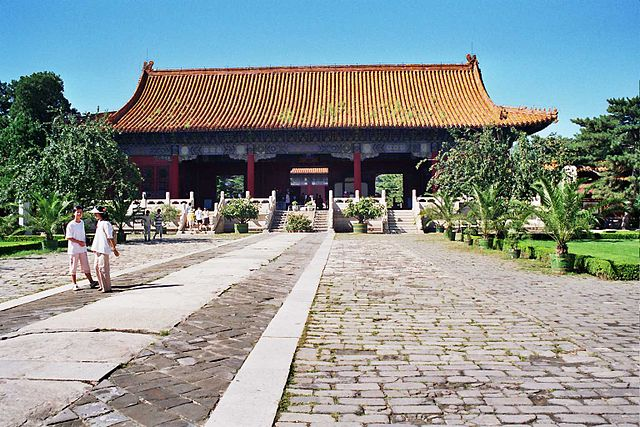 An entrance to a Ming tomb
