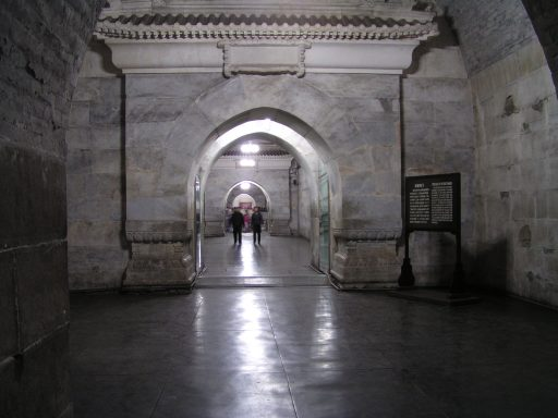 Inside the Dingling tomb