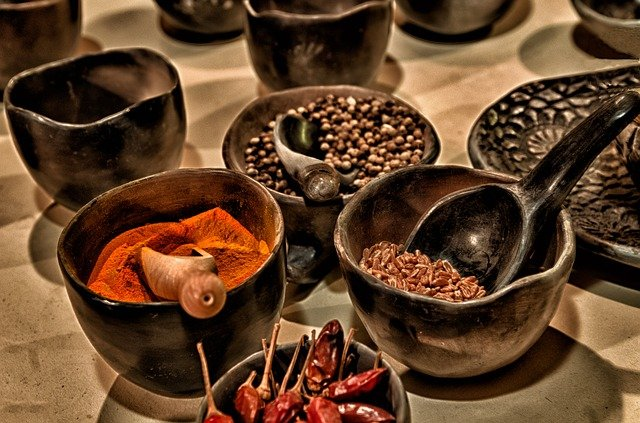 spices and chillies