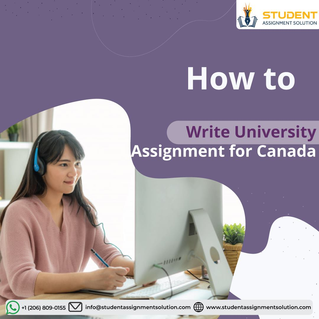 University Assignment for Canada Students